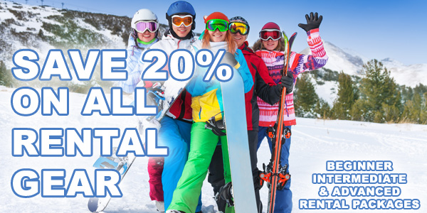 Save 20% When Booking Your Ski   Snowboard Reservations Online ... f76d1a4c558